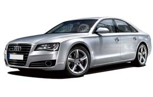 Audi A8 car hire from Top Cars Chauffeur Hire