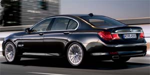 BMW 7 Series for hire from Top Cars Chauffeurs Cheshire