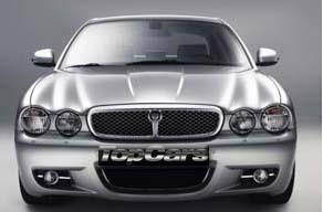 Jaguar XJ Sport for hire at Top Cars Chauffeurs Macclesfield