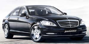 Mercedes S Series car hire from Top Cars Chauffeurs Macclesfield Cheshire