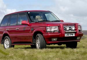 Range Over Sport 4 Litre, luxurious 4 x 4 from Top Cars Chauffeurs